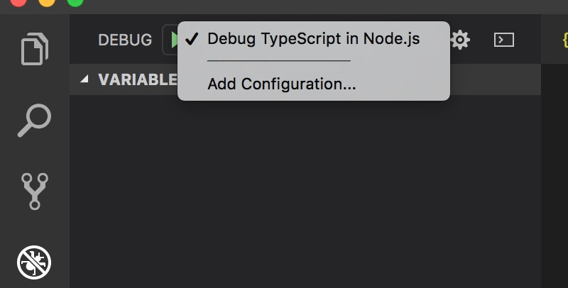 Debugging Node js apps in TypeScript with Visual Studio Code